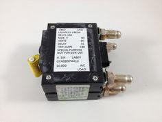 LELHPK111REC434171150 - AIRPAX - 150 AMP CKT BREAKER 2 POLE BULLET YELLOW HANDLE BAT STYLE