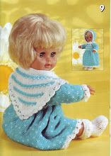 various other knitted outfits - for dolls sized up to Baby Clothes Patterns, Baby Doll Clothes, Baby Knitting Patterns, Baby Patterns, Crochet Pattern, Knitted Dolls, Knitted Hats, Dolly Mixture, Dolly Fashion