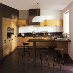 cuisine noir et or | Kitchens, Decoration and Lofts