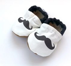 mustache baby shoes mustache shoes mustache slippers black and white shoes baby mustache booties crib shoes mustache shoes mustache clothing Baby Boy Shoes, Crib Shoes, Baby Mustache, Moustache, My Baby Girl, Baby Love, Baby Rocker, Shoes Too Big, Black And White Shoes