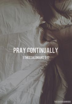 1 Thessalonians 5:17