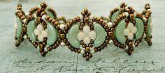 Bracelet of the Day: Fina Bracelet - Mint Green & Ivory                                                                                                                                                                                 More