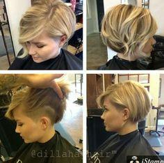 Grow hair.. Grow.. So i can cut you into this :-D