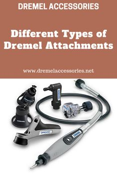 Different Types of Dremel Attachments Dremel attachments are designed specifically to make your job easier and with precision. Dremel attachments aid you in your cutting,. Dremel Attachments, Dremel Accessories, Different Types, Hand Tools, Grinding, Power Tools, Flexibility, Traveling, Activities