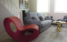 Voido by Magis / 11 Modern Comfortable Rocking Lounge Chairs  http://vurni.com/modern-rocking-lounge-chairs/