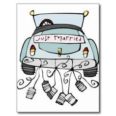 just married car - Google zoeken