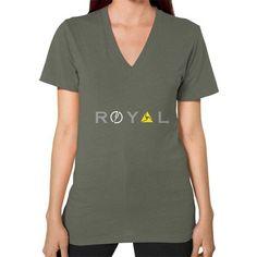Royal V-Neck (on woman)