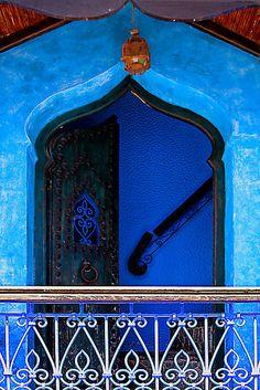 """The Blue City III"" - ©Damienne Bingham (via RedBubble)"