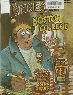 RDB Holdings & Consulting Tennessee Volunteers VS Boston College Eagles College Football Game Program - September 1977 - Excellent Condition, As Shown Tennessee Volunteers Football, Ut Football, College Football Games, Tennessee Football, Football Images, Go Vols, Boston College, Sports Art, Sports Illustrated