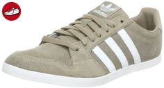 adidas Gazelle, Baskets Basses Mixte Adulte, Rose (Icepur/White/Goldmt), 42 2/3 EU