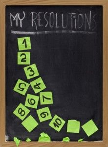 2013 Financial Resolutions
