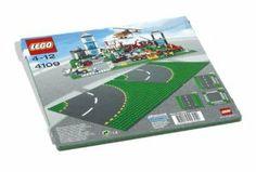 Lego Curved Road Plates 4109 by LEGO. $86.02. 2 plates. Lego City. Lego City Curved Road Plates