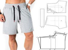 Amazing Sewing Patterns Clone Your Clothes Ideas. Enchanting Sewing Patterns Clone Your Clothes Ideas. Mens Sewing Patterns, Sewing Men, Sewing Pants, Sewing Clothes, Clothing Patterns, Diy Clothes, Underwear Pattern, Diy Shorts, Jacket Pattern