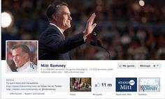 Mitt Romney en Facebook
