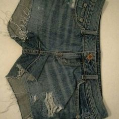 AE shorts Blue jean shorts  Gently used American Eagle Outfitters Shorts Jean Shorts