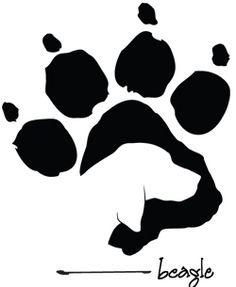 Beagle Paw :-) So sweet!                                                                                                                                                                                 More