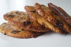 peanutbuttercookies with chocolate