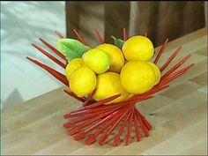 DIY Chopstick Centerpiece // HGTV