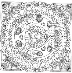 Yucca Flats NM Wenchkins Coloring Pages Skull Appreciation Day