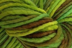 Rain Forest Hand Dyed Wool Pencil Roving - product image
