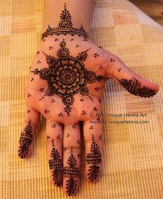 Beautiful Simple Henna Mehndi Design Ideas