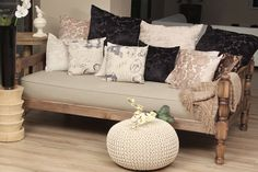 Assortment of scatter cushions available from Sesli Textiles