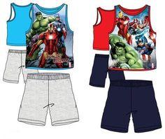 Pyjama court Avengers