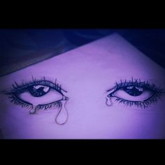 #sketch #eyes #crying
