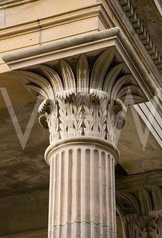 Mediterranean Architecture, Classic Architecture, Architecture Details, Columns Decor, House Columns, House Front Design, Fence Design, Column Capital, Greek Revival Home