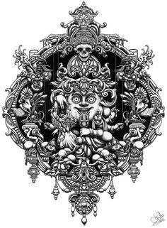 forma es vacío, vacío es forma: Joe Fenton - ilustración, dibujo