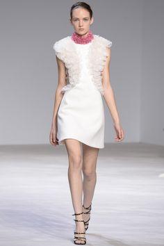 Giambattista Valli Alta Costura Primavera 2016 Little White Dress