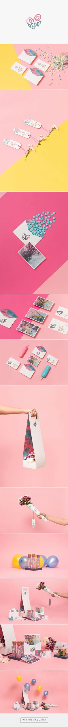 Love Depot Gift Shop Branding by The Branding People | Fivestar Branding Agency – Design and Branding Agency & Curated Inspiration Gallery