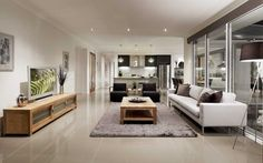Lindeman General Living 4, New Home Designs - Metricon