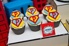 Fabulous Features by Anders Ruff Custom Designs: {Our Parties} PART ONE (of 3) - Super P Turns 3! A Vintage Pop Art Super Hero Party by Ande...