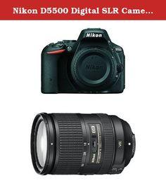Nikon D5500 Digital SLR Camera w Nikkor 18-300 F3.5-5.6 VR II Lens Bundle. DPReview Recommended Bundle. Nikon D5500 Digital SLR Camera. Nikkor 18-300mm f/3.5-5.6G AF-S DX Lens.