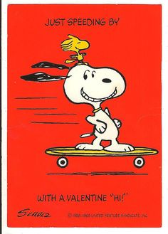 Do you remember any of these adorable & vintage Valentine's Day cards, featuring Snoopy & Woodstock of the Peanuts gang? Vintage Valentine Cards, My Funny Valentine, Valentine Day Cards, Snoopy Valentine's Day, Snoopy And Woodstock, Snoopy School, Peanuts Cartoon, Peanuts Snoopy, Snoopy Pictures