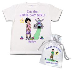 15f9b853 Mini Golf Birthday Party Invitations and Favors for Kids Miniature Golf  Parties