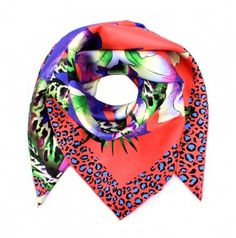 Kenzo Scarf Tropical Coral by Fashionette