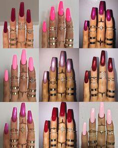 Valentines nail inspo
