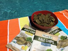 Simply7 Kale Chip Flavors: Lemon and Olive Oil, Sea Salt and Dill Pickle