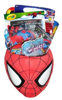 JUMBO Spiderman Gift Basket - Perfect for Easter, Birthdays, Get Well, and Other Special Occassions Artistix Designs Gift Baskets,http://www.amazon.com/dp/B004YMCX9G/ref=cm_sw_r_pi_dp_n6wotb15BCX8SJKZ