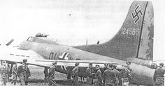 "Captured American B-17 used by the Luftwaffe During World War II, after crash-landing or being forced down, approximately 40 B-17s were repaired and put back into the air by the Luftwaffe. These captured aircraft were codenamed ""Dornier Do 200"", given German markings and used for clandestine spy and reconnaissance missions by the Luftwaffe - most often used by the Luftwaffe unit known as KG 200, hence a likely possibility as a source for the ""Do 200"" codename. (Ithis just made me smile)"