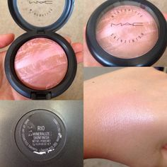 MAC – Rio. Want! I have two of their other pink mineral blushes.  Love them.