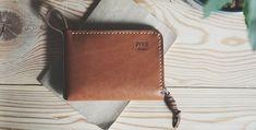 Zip wallet / copper color by RUKIKRYKI on Etsy