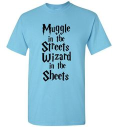 Muggle in the Streets Wizard in the Sheets