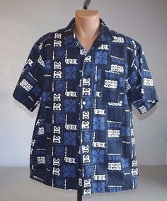 American Eagle Outfitters Hawaiian Medium Single Pocket Short Sleeve 100% Cotton #AmericanEagleOutfitters