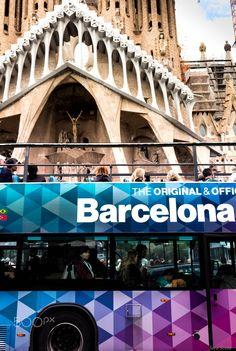 The city describes by itself - Sagrada Familia, Barcelona, Catalunya, Spain