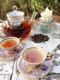 Tea for you and me .