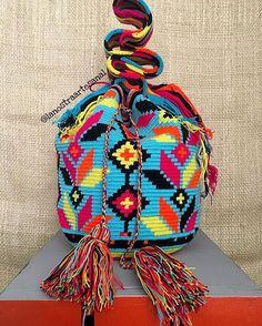 Colores Wayuu; Colores Que Dan Vida - Hecho a Mano Por Artesanas Wayuu - Original Wayuu @lanostraartesanal