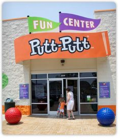 When Don Clayton was 28, he felt pressured while selling insurance.  His doctor feared he would have a nervous breakdown.  In Fayetteville, NC in 1954, Don created miniature golf (better known as Putt-Putt)  His first orange and green  course was built there and it relied on skill rather than luck.  His putt-putt golf and games started an international pastime and is a multi-million dollar industry today with courses around the world.  Fayetteville, North Carolina...the birthplace of Putt-Pu... Visit North Carolina, North Carolina Homes, Putt Putt Golf, Nervous Breakdown, Miniature Golf, Game Start, East Coast, Heaven, Mary
